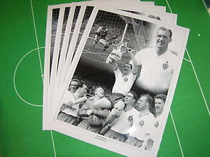 5-x-Bolton-Wanderers-Nat-Lofthouse-Signed-Photographic-Montages-incl-1958-FA-Cup
