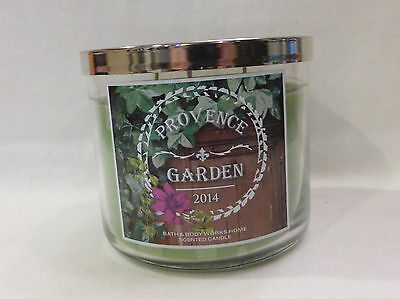 1 Provence Garden Scented Candle Bath & Main part Works 14.5 Oz