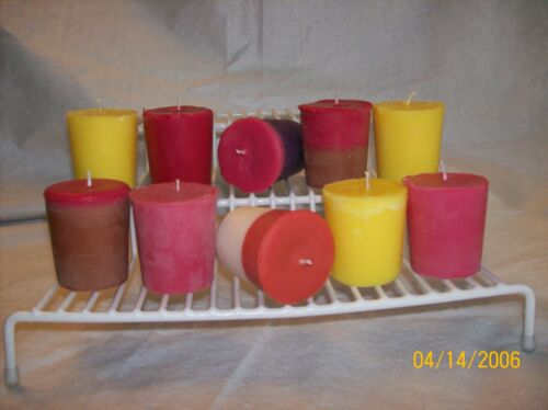 Handmade Soy Votives HIGHLY SCENTED - 50 Pack U Pick Scent
