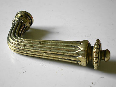 poignée porte bronze  serrure chateau maison art deco architecture