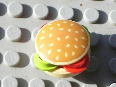 LEGO Scooby-Doo Burger Hamburger Sesame Ref 2654pb005 4073 Set 75900 75903 75904