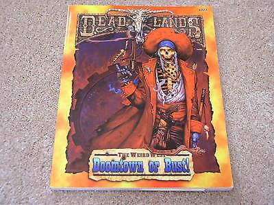 Pinnacle Entertainment Deadlands Doomtown Or Bust  Sourcebook