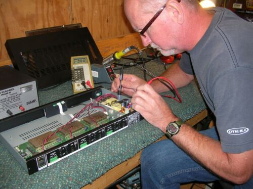 "NuVo Model NV-P3100 Repair Service ""No Power"""