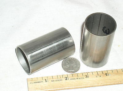 2 Welded 316 Stainless Steel Tubing 1-12 Od Cut In 2-12 Inch Lengths Wall.065