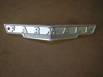 Ih Farmall A Av B Bn Farmall Front Grill Emblem  21-22-8