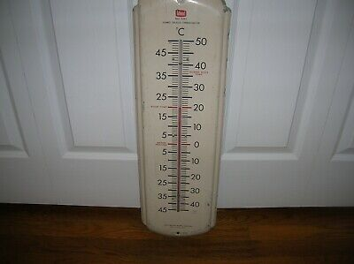 Vintage Ideal Jumbo Celsius Thermometer No 5551
