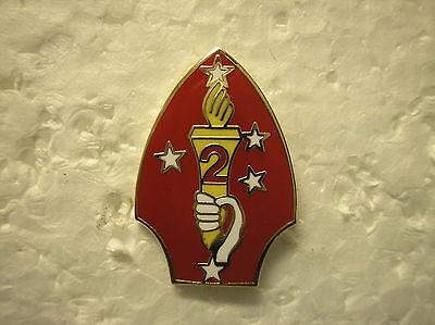 USMC HAT PIN U.S. MARINE CORPS 2nd MARINE DIVISION