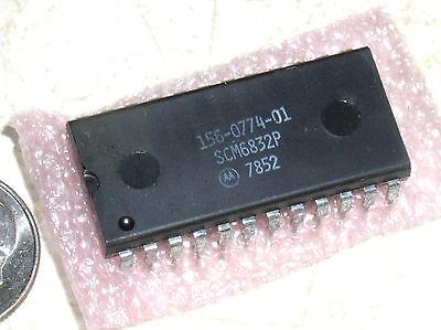 Original Tektronix Oem Repair Part 156-0774-01 Motorola 24 Pin Ic Chip Scm6832p