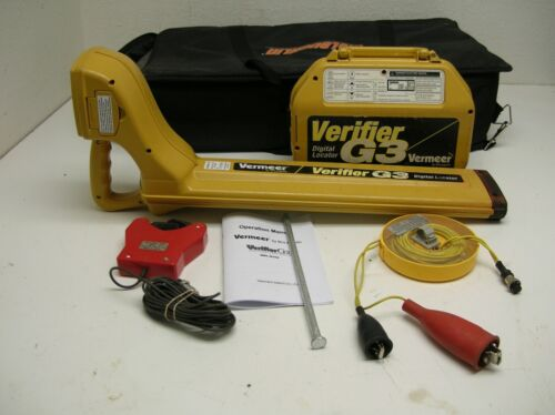 McLaughlin Vermeer Verifier G3 Utility Cable Locator  gx Utility Wire
