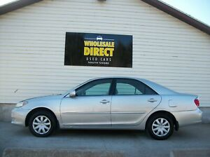 2005 Toyota Camry CAMRY SEDAN with AIR, CRUISE, AUTO & MORE!