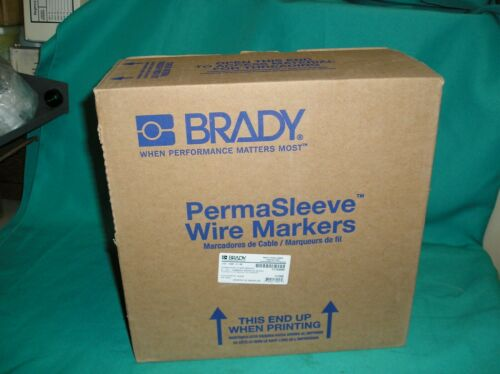 "Brady 2HX-1500-2-BK PermaSleeve Wire Marking Sleeves 1.50"" 1.969"" Polyolefin"