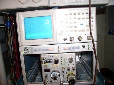 Tektronix 7l12 Spectrum Analyzer Plug-in 1.8 Ghz Nr Very Nice 5