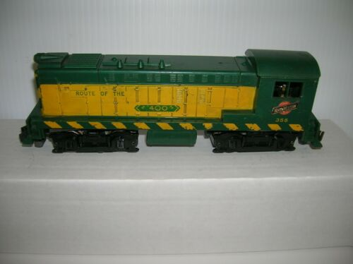 "AMERICAN FLYER 355 "" CNW DIESEL , SOLD FOR PARTS ONLY "" ,LOT # 20807"