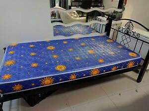 Bed Frame with Mattress West Ryde Ryde Area Preview