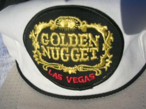 VINTAGE GOLDEN NUGGET LAS VEGAS CASINO Hat Cap MADE IN USA