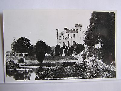 POSTCARD - BELLINGHAM CASTLE FROM RIVER GLYDE - COUNTY LOUTH - IRELAND