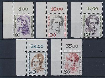 Berlin 824/28 postfrisch / Ecke 1 Frauen (6013) ................................