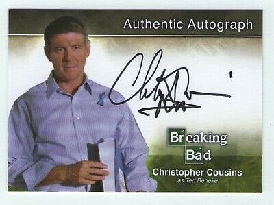 Breaking Bad seasons 1-5 autograph card A20 Christopher Cousins - Ted Beneke