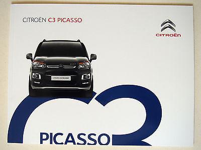 Citroen . C3 . C3 Picasso . November 2015 Sales Brochure