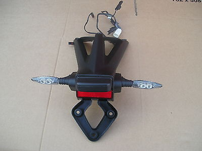 BMW S1000RR 2015 ( THIRD GENERATION ) NUMBERPLATE HANGER WITH INDICATORS
