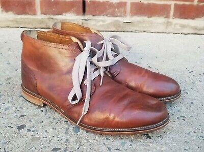 J Shoes 'Monarch' Mens Brown Leather Chukka Boots sz 13 US / 12 UK / 47 EUR