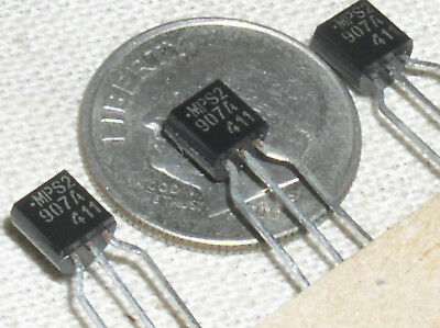 10 New Obsolete On Semi Mps2907a 2n2907a Pnp Transistor -60v -0.6a To92 Usa Ship