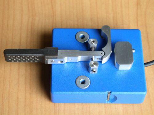 CW Morse Code Keyer. Knob ebonite.