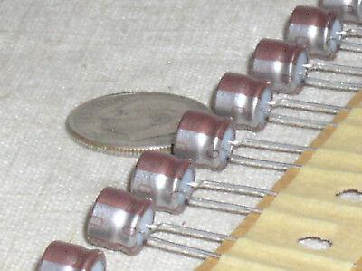 10 Nichicon 33uf16v 33mf Miniature Radial Electrolytic Audio Capacitor 105 Usa