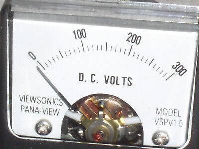 Vspv 1.5dc Mini 300v 300 V 200 100 Vdc Dc Volt Analog Panel Meter Voltmeter Usa