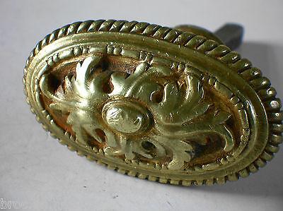 ancienne poignee porte fenetre serrure bronze art deco chateau maison maitre