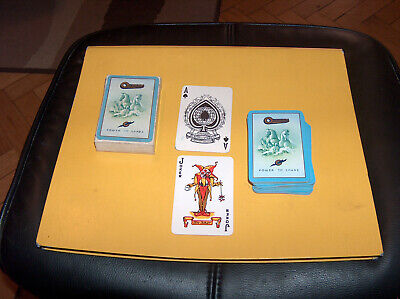 Playing cards - Vintage Advertising Dec Oldham Batteries from UK