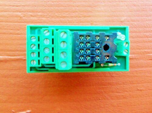 Phoenix Contact UMK-SE 11, 25-1 Relay Base Socket 14-Pin