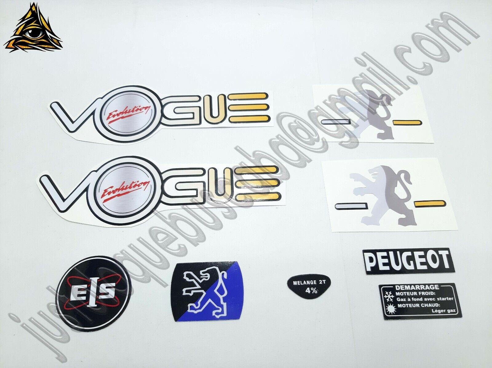 Autocollant mobylette Peugeot 103 Vogue Evolution