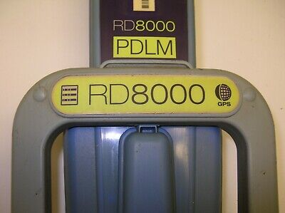 Radiodetection Rd8000 Pdlmg  8100 Pdl Cable Pipe Locator Never As Is W W Ship