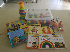 Toddler indoor toys and books bundle Ormeau Gold Coast North Preview