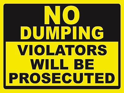 No Dumping - Sign- Ps-50708...large