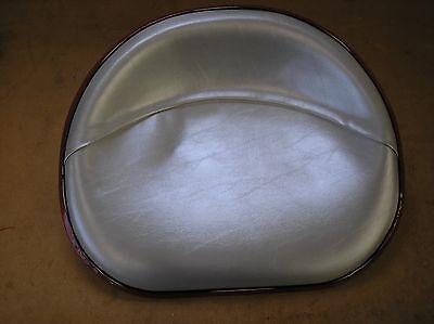 Ih Farmall Cub C H M Mta 300 450 New Silver Vinyl Seat  18-22-343