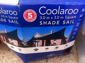 Coolaroo Premier 3.0 x 3.0m Square Beige Shade Sail Applecross Melville Area Preview