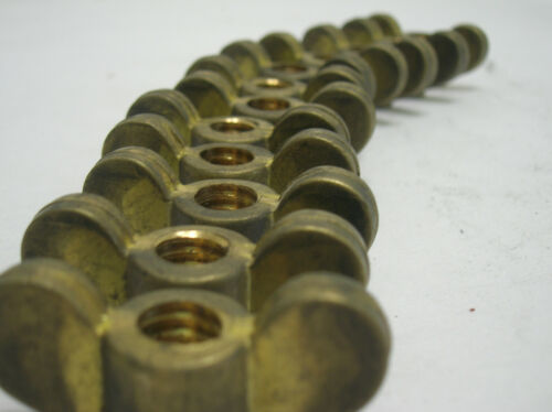 Authentic Deep Sea Diving Helmet WING NUTS X 12 VintageTOA BRASS Japanese