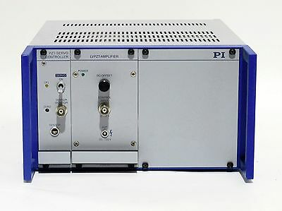 Physik Instrumente E-501.00 9 12 Chassis With Pzt Servo E-509.x1 And Lvpzt Amp