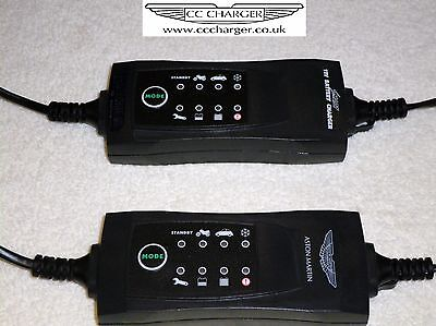 Aston Martin Battery Charger, Conditioner, Trickle Charger 3 Pin Connector type