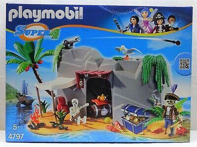 Gran Piratas Miel Isla Playmobil 4797 Varios`14 Con Mega Accesorio Ovp Neu...