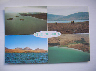 Jura - Small Isles Bay, Paps of Jura, Deer, Corran Sands. (S Martin)