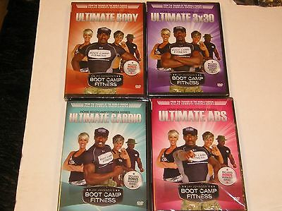Jay Johnsons Boot Camp Fitness Set Of 4 Workout Dvds