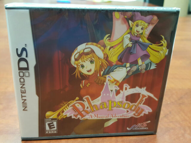 Rhapsody: A Musical Adventure NINTENDO DS 3DS DSI FACTORY SEALED