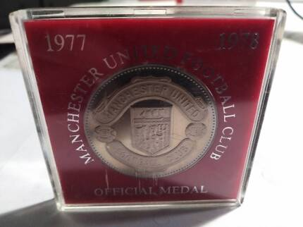 Manchester United Official Medal******1978