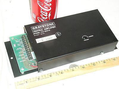 ELBEX GRAYSTONE CA-800 G CENTRAL INTERCOM AMPLIFIER UNIT STATION IS-604A OS-803