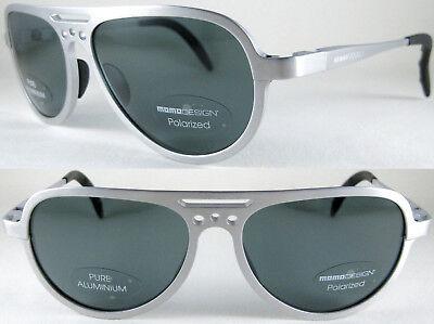 Vintage & Rare MOMO DESIGN Unisex Pilot Sunglasses-100% Alminium in (Momo Sunglasses)