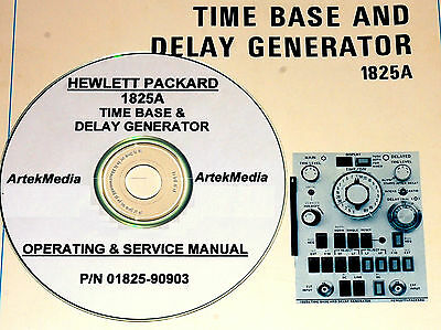 Hp 1825a Time Base Plug-in Operating  Service Manual