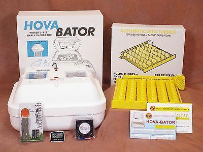 HOVABATOR EGG INCUBATOR | Egg Turner | Fan | Thermometer | Egg Candler